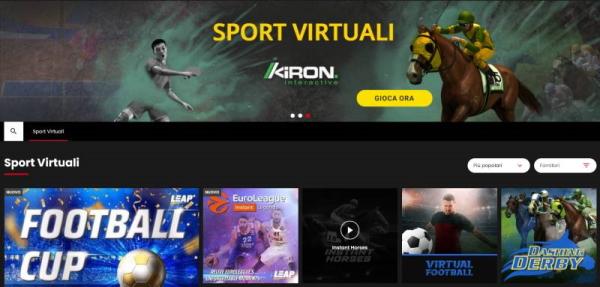 scommesse calcio virtuale, sport virtuali (come snai)