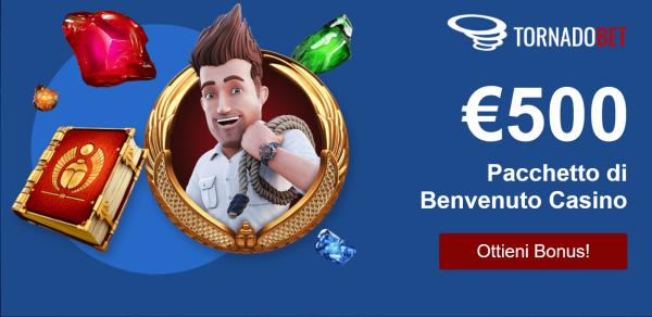 TornadoBet Bonus e Promozioni